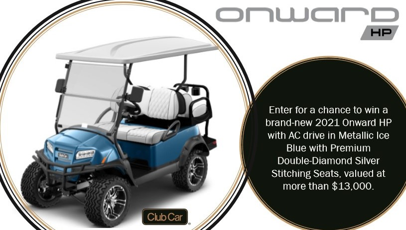 Donate to Win a Golf Cart
